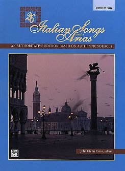 26 Italian Songs and Arias (Alfred)